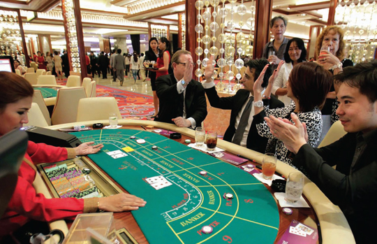 help of Baccarat